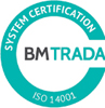 BM Trada System Certificate ISO-14001