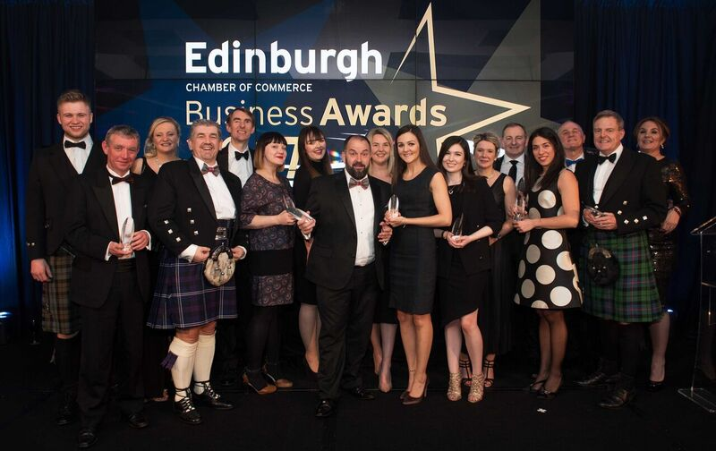 Edinburgh Chamber Business Awards 2018